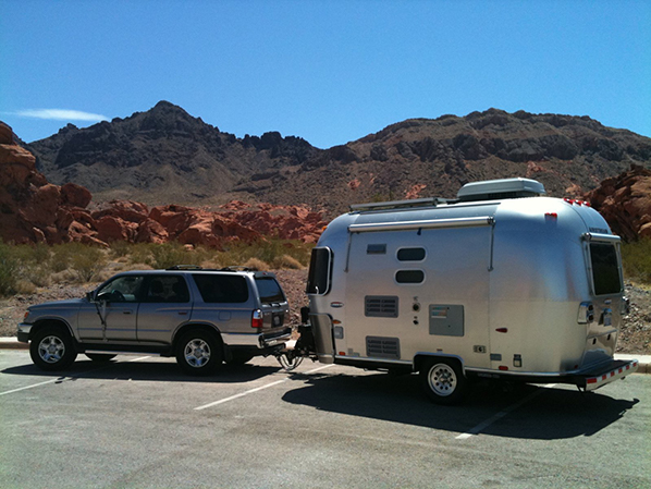 Toyota 4runner with Airstream