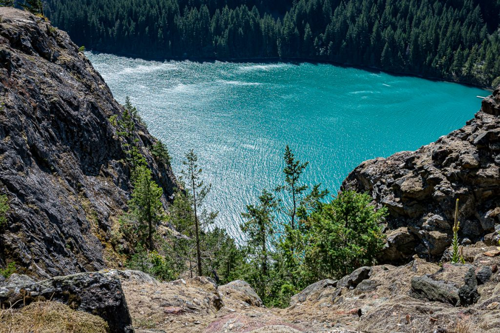Ross Lake Overlook glacier-fed
